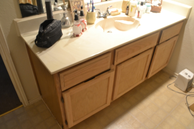 bathroom cabinet redo plain notions for everyday people
